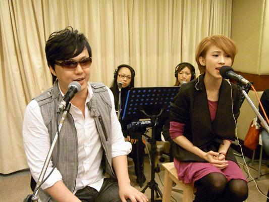 戴佩妮演唱會彩排請來嘉賓蕭煌奇-1.JPG