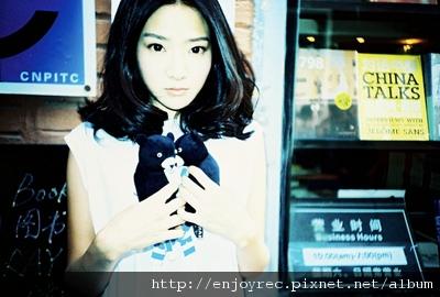 天后團隊精心打造 無PS美女張萱妍精靈氣質征服網友