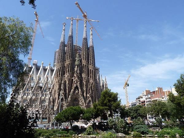 巴塞隆納聖家堂(barcelona sagrada familia)