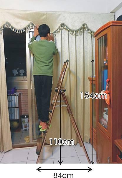 特力屋四階鋁香檳金扶手梯 (6).jpg