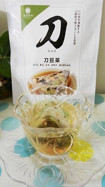 台灣茶人切油斬臭輕纖刀豆茶3角立體茶包 (13).JPG