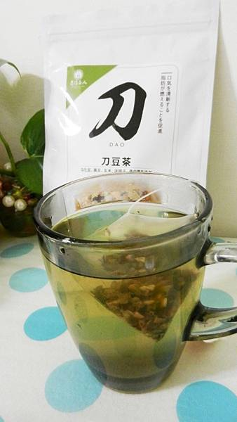 台灣茶人切油斬臭輕纖刀豆茶3角立體茶包 (14).JPG