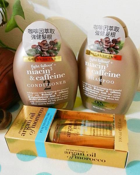 OGX咖啡因養髮強韌洗潤髮385ml (2).JPG