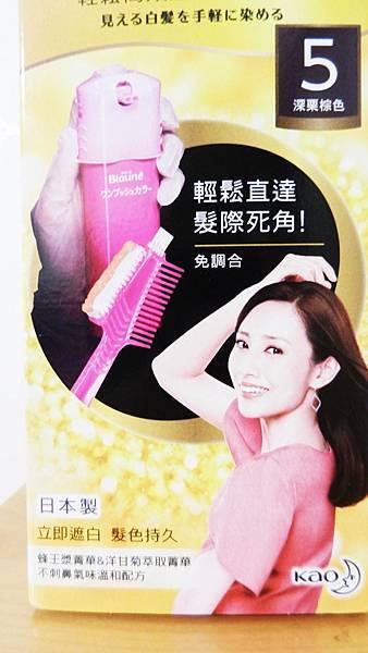 莉婕頂級一按即梳染髮霜 (2).JPG