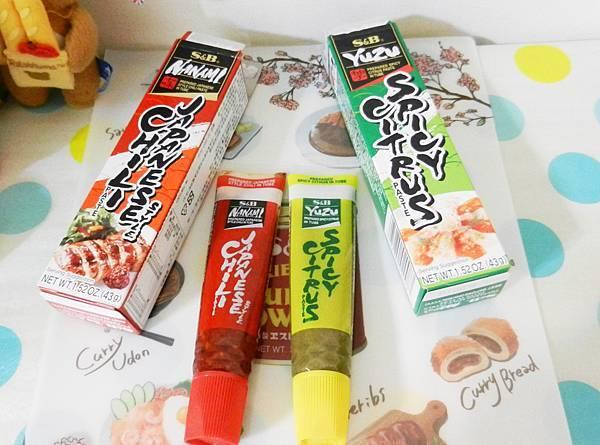S&B七味辣椒醬+柚子胡椒醬 (5).JPG
