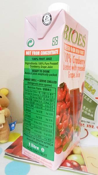 南非天然蔓越莓綜合果汁 (4).JPG