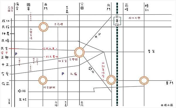 tainan's map-20130925