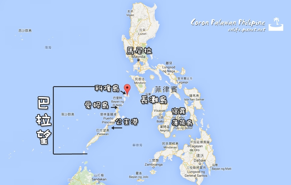 Coron map