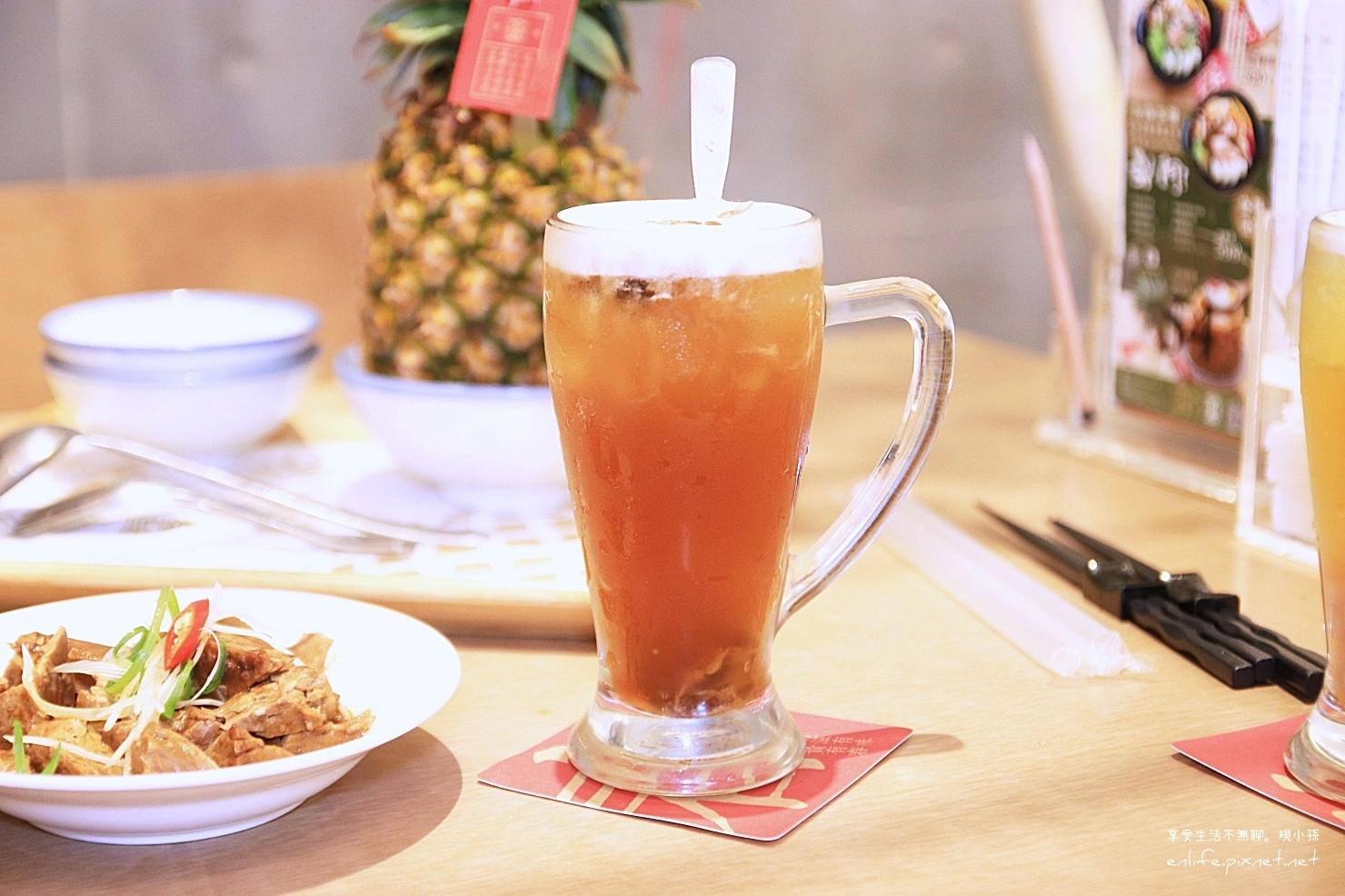 台中美食有春茶館-柴燒桂圓茶