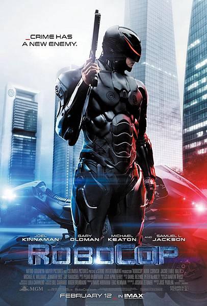 機器戰警poster
