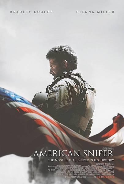 美國狙擊手海報