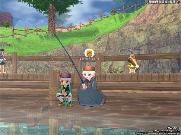 偽姊弟釣魚圖