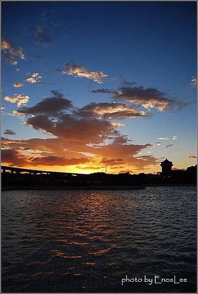 大佳河濱公園 - 美麗夕陽