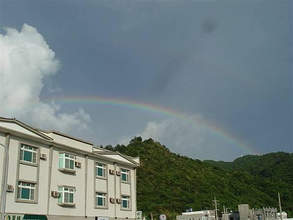 綠島的彩虹