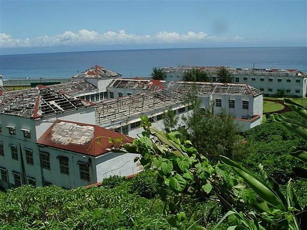 颱風摧毀的痕跡