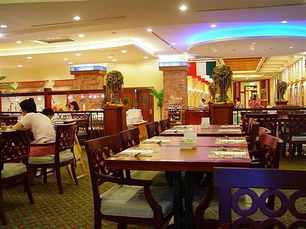 飯店的餐廳