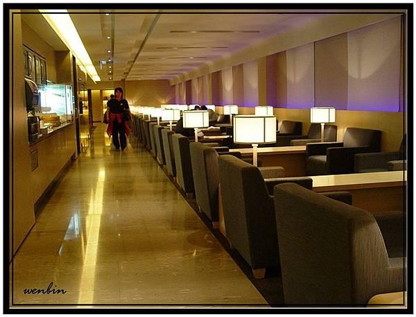 中正機場的華航貴賓室