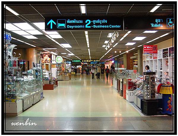 過境泰國曼谷機場