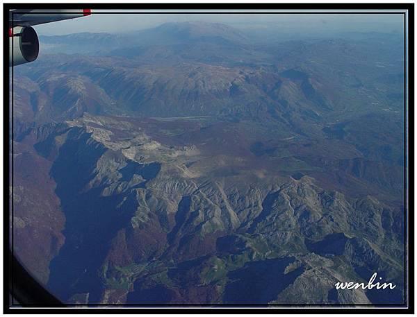 從飛機看世界
