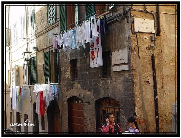 西也納的古街