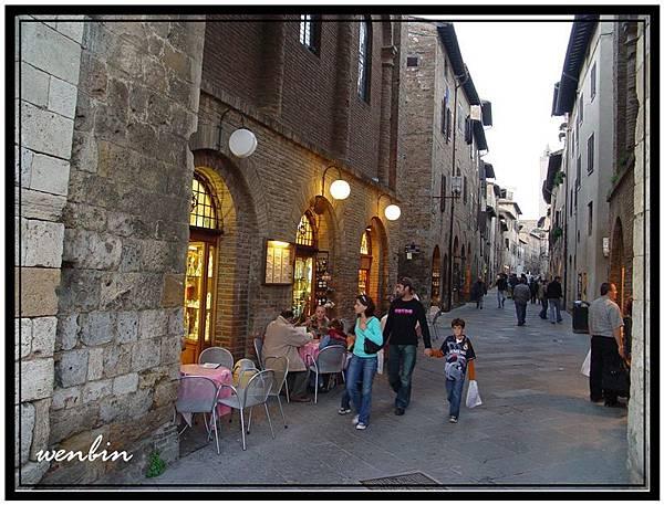 聖吉米那羅的舊城老巷