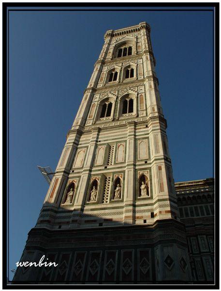 聖母百花大教堂的鐘樓
