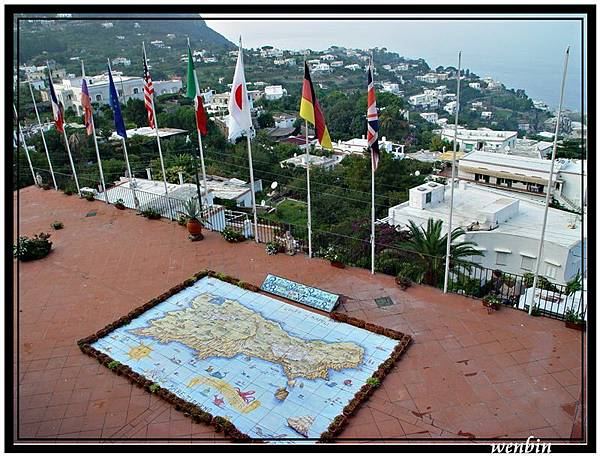 卡布里島地圖