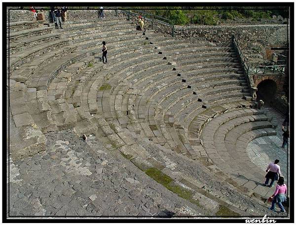龐貝的劇場