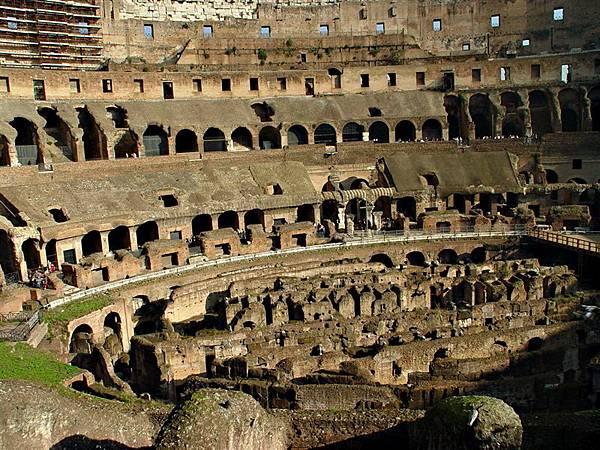 羅馬競技場一景