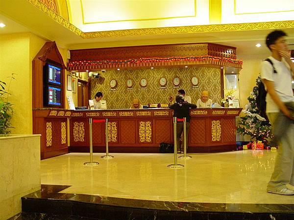 吉隆坡機場的過境旅館大廳