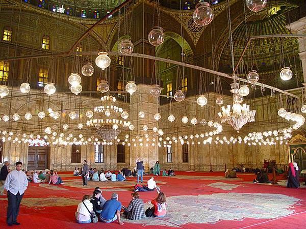 阿里清真寺 內部