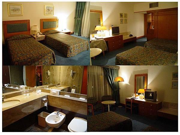 羅馬飯店房間