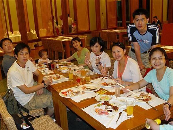 鹿鳴溫泉酒店的晚餐