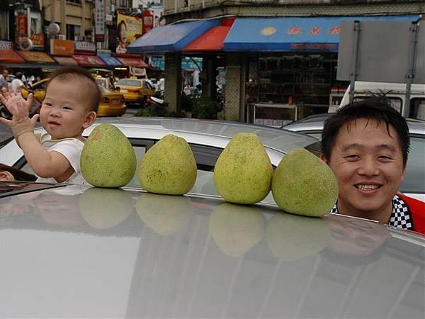 6個柚子??