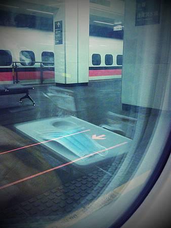 搭高鐵前往台中