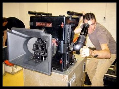 IMAX的3D攝影機