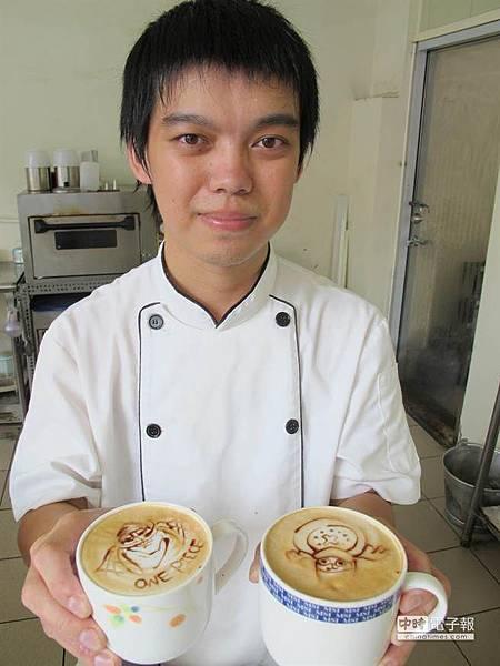 咖啡當畫布 設計師重拾繪畫夢((新聞分享))