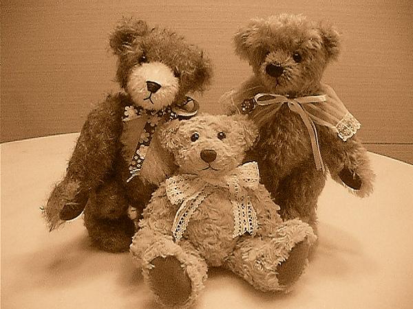 手作泰迪熊~復古照
