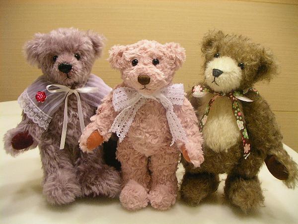 手作泰迪熊~團體照