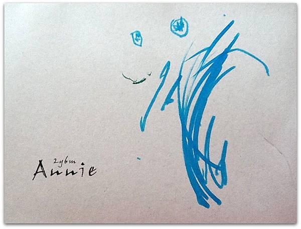 Annie 2y6m 畫眼睛