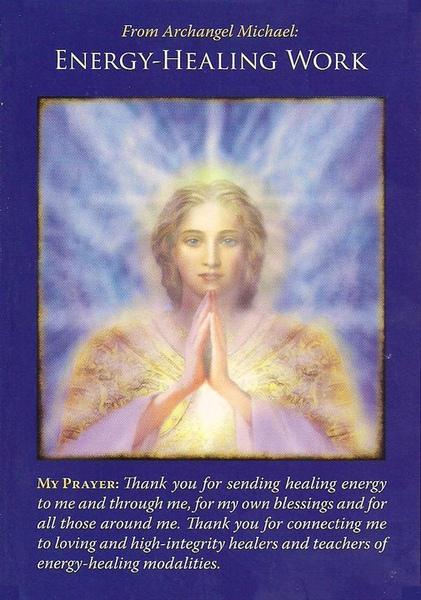 敬愛的大天使麥可,謝謝祢為我帶來療癒的能量,這不僅是對我的祝福,更擴及到我身邊摯愛的朋友們。.jpg