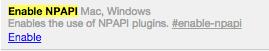 [Chrome] 讓 Chrome v42 暫時還可以使用 Java/NPAPI plugin