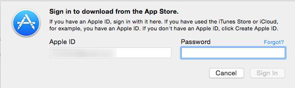 [Mac] 使用另一個 AppleID 更新 Xcode