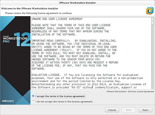 [Linux] 在 CentOS 7 上安裝 VMware Workstation Pro 12