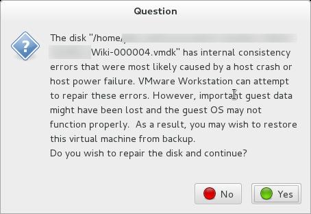 [VMware] 繞過損壞無法修復的 snapshot 的 VM