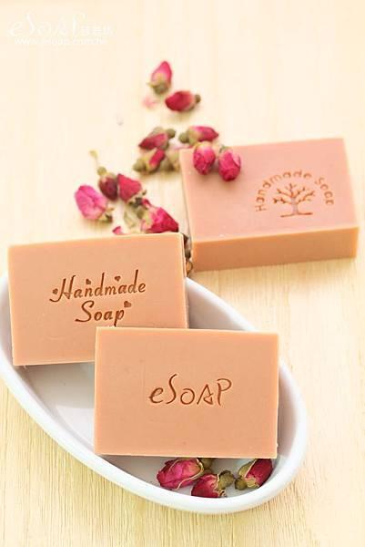 玫瑰淨白皂