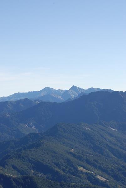 南湖大山 中央尖山 真的很美