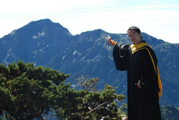 奇萊北峰 但願在我當兵前能挑戰成功
