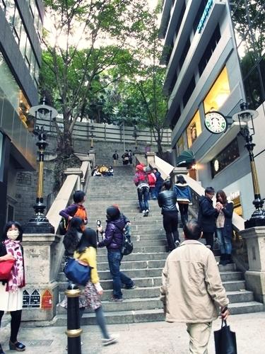 都爹利街階梯