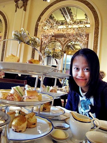 香港半島酒店下午茶